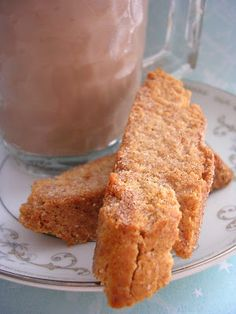 The Busty Baker: Cinnamon Sugar Biscotti (Day 7 of 12 Cookies of Christmas)Will substitute GF flour. Cookie Desserts, Just Desserts, Cookie Recipes, Delicious Desserts, Dessert Recipes, Cookie Bars, Holiday Baking, Christmas Baking, Italian Christmas