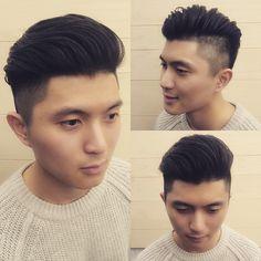 彰化 INN salon - Edison  男士 油頭 造型 Men's hair style。 為你打造專屬個人風格造型 ☎️04-7282820