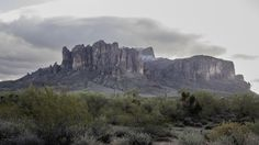 Snow on the Superstition Mountains AZ today [OC][20481152] #reddit
