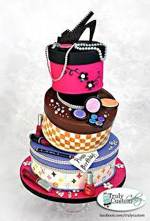 fashion+hat+box+topsy+turvy+cake+Truly+Custom+Cakery.jpg 217×320 pixels