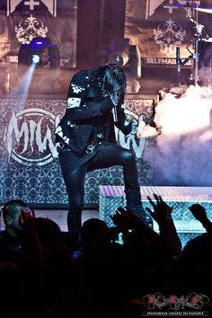 ksneddonphoto:    Chris Motionless- Motionless in White @ the Infamous Tour (Pomona, CA | 6/6) on Flickr.