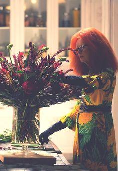 Frances Conroy as Myrtle Snow in American Horror Story: Coven American Horror Story Coven, American Horror Story Episodes, American Horror Story Seasons, Ahs, Frances Conroy, Cinema Tv, Horror Show, Evan Peters, Film Serie