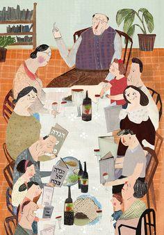 Netalula • people at a table