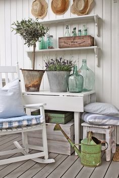 VIBEKE DESIGN....love this for the back deck