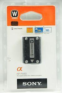 GENUINE Sony NP-FW50 W Series Alpha A33 A35 A37 A55 NEX 3 5 6 7 Camera Battery http://ebay.to/27mgV2k
