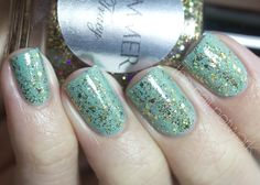 The Nail Network: Shimmer Tracy over Zoya Wednesday