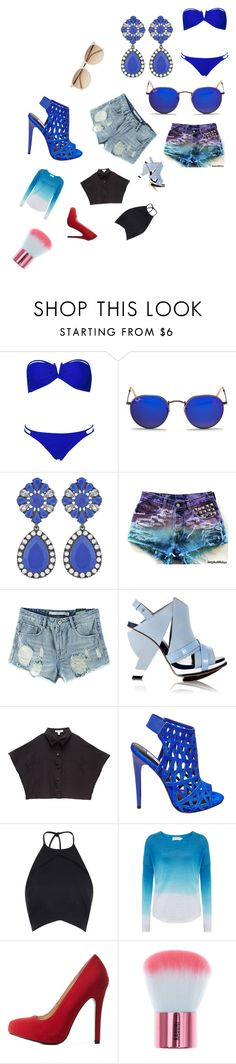 """Various outfits #3"" by deeceebae ❤ liked on Polyvore featuring Ray-Ban, Abcense, Silvae, Steve Madden, Rebson, Velvet by Graham & Spencer, Charlotte Russe and Witchery"