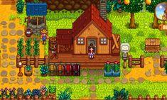 Моя ферма Stardew Valley Layout, Stardew Valley Farms, Pc Games, Animal Crossing, Pixel Art, Game Art, Videogames, Nintendo, Geek