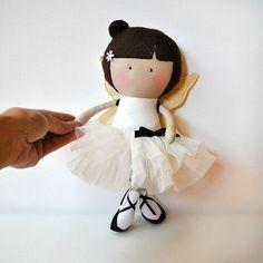 Como hacer muñecas de tela con moldes