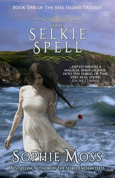 The Selkie Spell by Sophie Moss  This is a contemporary tale, complete with a mythical selkie, a woman fleeing an abusive, deranged husband and, of course, a handsome pub owner