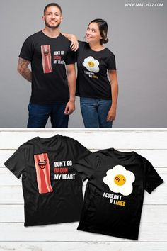 Couples Shirts Funny, Couple Shirts, Couples Matching, His Hers Matching Shirts, Matching Couple Outfits, Matching Couples, Cute Couples, Funny Couple Shirts, Couple Tshirts, Boyfriend Girlfriend Shirts, Funny Girlfriend, Valentine Shirts, Outfits For Teens