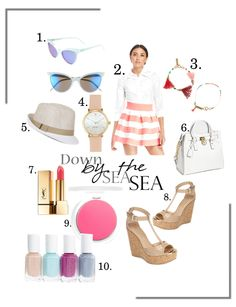 Spring Nautical Style ootd ideas inspiration- SWEET HAUTE