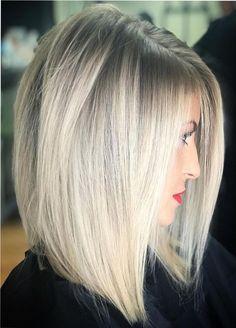 Hair Colours Trend 2019 For Women 37 Medium Hair Styles, Short Hair Styles, Medium Fine Hair, Brown Blonde Hair, Blue Hair, Hair Color Balayage, Great Hair, Hair Today, Hair Looks
