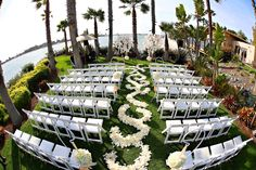Island Point Lawn beach wedding venue in San Diego at Paradise Point Resort & Spa. #WeddingVenues