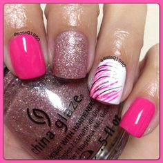 This pink!! #chinaglaze beauty within and hello gorgeous!  @ susieq1980