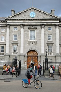 "Trinity College, Dublin. Want to visit #Dublin? Include this in your #travel #bucketlist #bucket #list. Checkout ""City is Yours"" http://www.cityisyours.com/explore to discover amazing bucket lists created by local experts. #local #restaurant #bar"