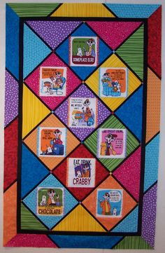 We investigate common color schemes and give you more quilting ideas in part 3 of this 5 part series.