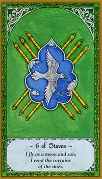 Six of Staves (Wands)