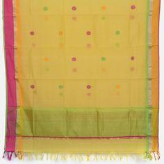 Marm Chanderi Silk Cotton Dupatta 10000668 - AVISHYA.COM