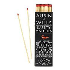 Aubin & Wills matches