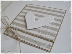 card with heart hearts maja design paper square Valentine Day Cards, Valentines, Karten Diy, Heart Cards, Handmade Birthday Cards, Love Cards, Baby Cards, Homemade Cards, Making Ideas