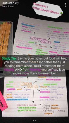 Study Organization Tips Business Ideas High School Hacks, Life Hacks For School, School Study Tips, Middle School Hacks, School Life, School Organisation, Study Organization, Business Organization, Studyblr