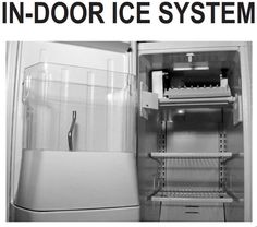 Learn how to fix problems with Whirlpool's door mounted ice bin, ice maker!
