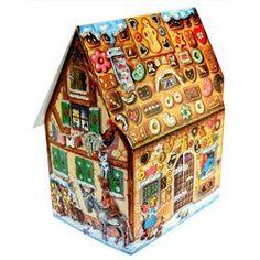 Gingerbread House Fairy Tale Advent Calendar - 3 Dimensional                                                                                                                                                                                 More