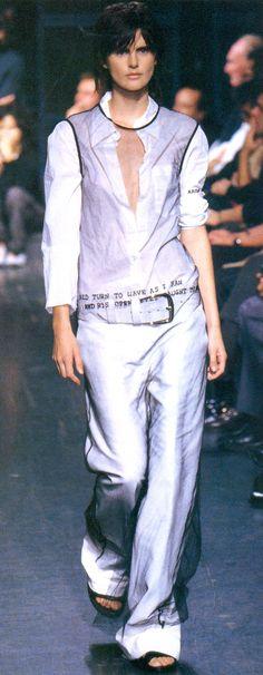 """"""" Ann Demeulemeester Spring/Summer 2000"""""""