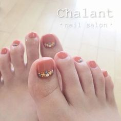 Pin by yordani Haney on Nail art designs in 2020 Pedicure Designs, Manicure E Pedicure, Toe Nail Designs, Pedicures, Pedicure 2017, Cute Toe Nails, Cute Nail Art, Creative Nail Designs, Creative Nails