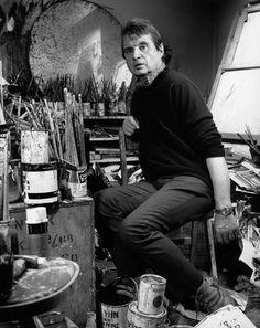 Francis Bacon by Francis Goodman Artist Art, Artist At Work, Francis Bacon Studio, Michel Leiris, Painters Studio, Simple Portrait, Mark Rothko, Artistic Photography, Life Photography