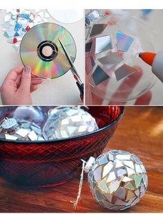 Disc disco ball