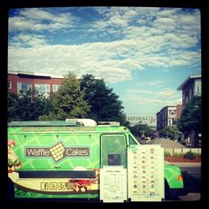 Waffle Cakes food truck at Stapleton Farmers Market this summer!