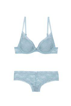 @womensecret blue set
