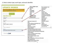 ORCID : Linking Document IDs to your Works
