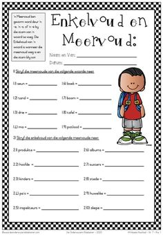 Enkelvoud en meervoud (gekry op FB) Teacher Hacks, My Teacher, Afrikaans Language, Afrikaanse Quotes, Printable Preschool Worksheets, Map Skills, Teachers Aide, Teaching Time, Education Humor