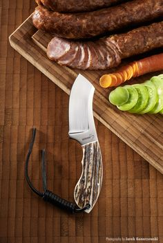 Boker Plus Rhino Stag fixed blade knife, Germany. Jesper Voxnaes VOX design. Photography by Jarek Konarzewski.