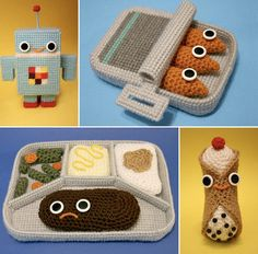 Crochet! Hopefully I get good enough to make these:)