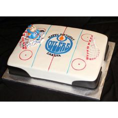Hockey cake.... Make it Sabres