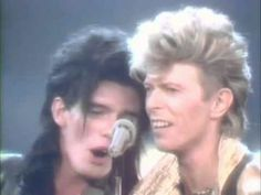 Charlie Sexton and David Bowie ♥