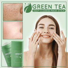 Oily Face, Corte Y Color, Cleansing Mask, Clean Pores, Anti Aging Treatments, Green Tea Extract, Blackhead Remover, Acne Prone Skin, Natural Remedies