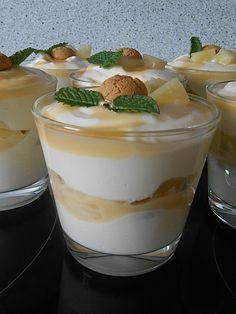 Raffiniertes Eierlikörtiramisu, ein sehr schönes Rezept aus der Kategorie Dessert. Bewertungen: 24. Durchschnitt: Ø 4,6.