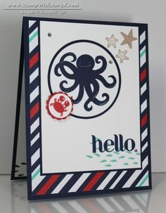 Sea Street Hello by amyk3868 - Cards and Paper Crafts at Splitcoaststampers