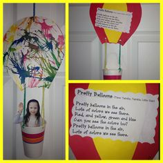 Hot Air Balloon ride craft.