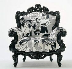 Comic chair.