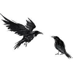 pl wp-content uploads 2016 12 hugin-i-munin. Black Crow Tattoos, White Bird Tattoos, Black Bird Tattoo, Badass Tattoos, Crow Tattoo Design, Full Sleeve Tattoo Design, Helm Tattoo, Thai Tattoo, Maori Tattoos