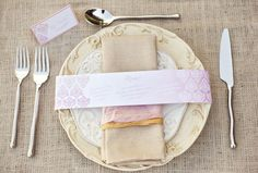 Rustic Wedding Ideas Using Burlap Rehearsal Dinner Invites Menu and RSVP cards  Place cards with menu selection for each place setting And seating arrangement chart to guide guests to their seats.