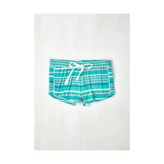 70s Sprout of Bed, Sleepyhead! Pajama Shorts ($22) ❤ liked on Polyvore
