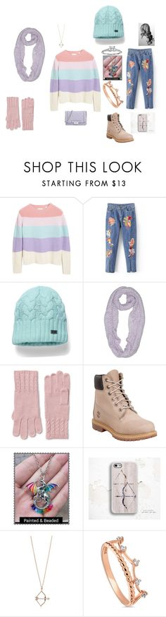 """Natty AU"" by cheapbluefeather ❤ liked on Polyvore featuring Chinti and Parker, Under Armour, BCBGeneration, Lands' End, Timberland, Aamaya by Priyanka, BERRICLE and Blue Nile"