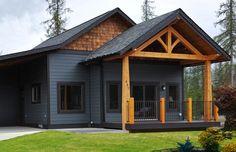 cedar & black cottage - Google Search